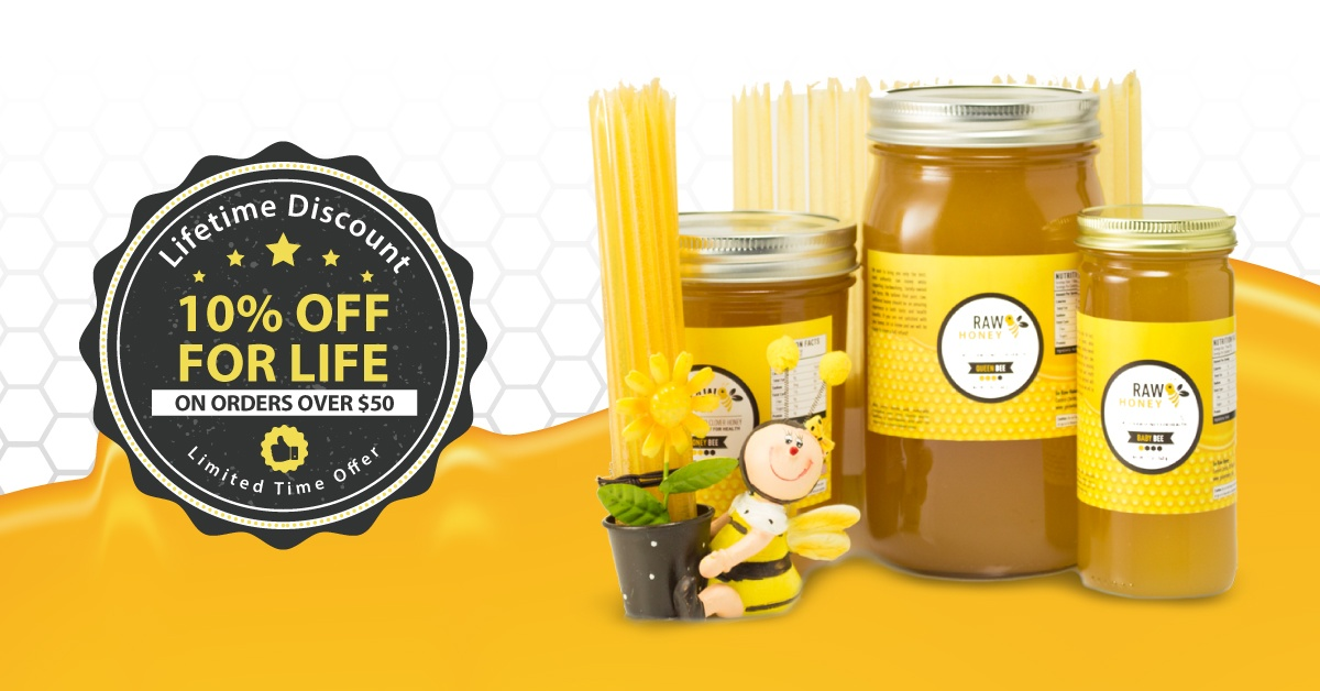 lifetime honey discount