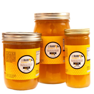 what is raw honey