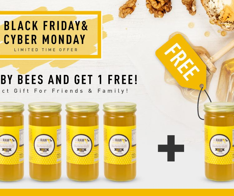 Buy 5 Baby Bees Get 1 Free - Our Black Friday/Cyber Monday Special