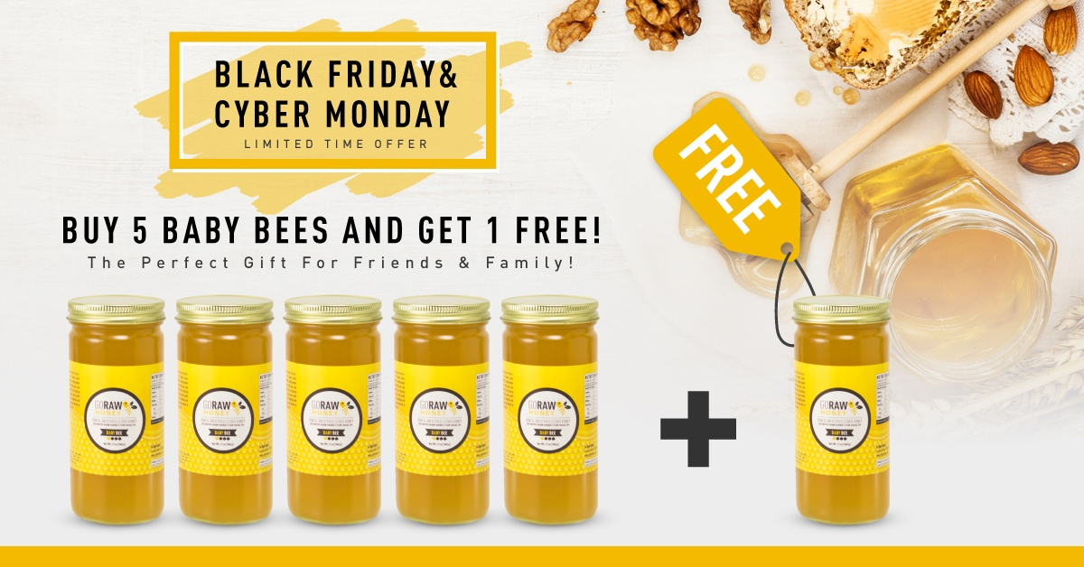 Black Friday Special - Buy Five Baby Bee Get One Free