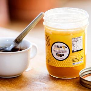 raw honey cough suppresant