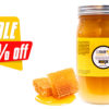 flash sale 3lbs raw honey deal