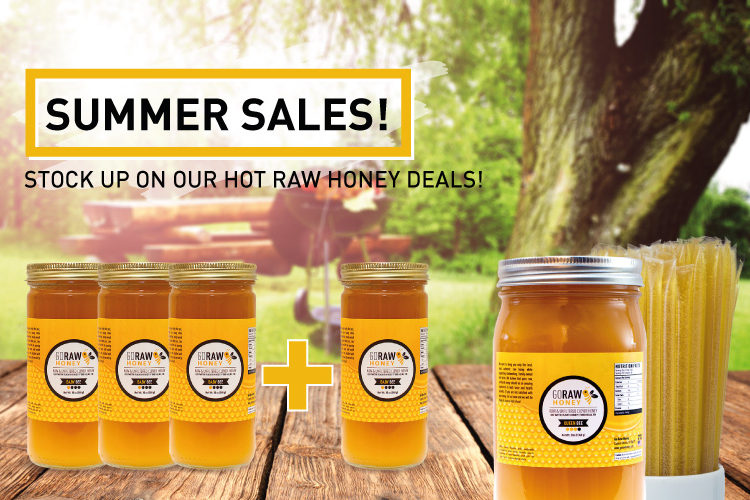 Summer Sales - Stock Up On Hot Raw Honey Deals!