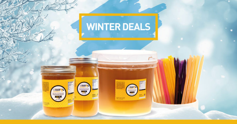 Discount Raw Honey Bundles & Deals - Free Shipping - Bulk