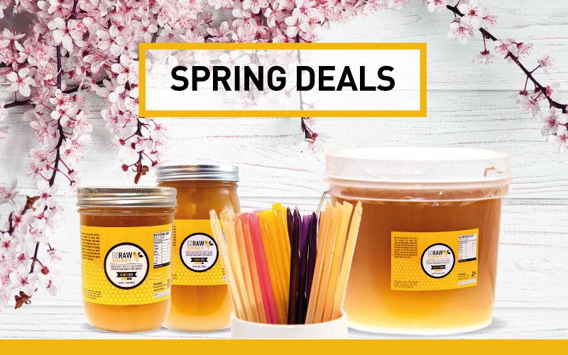 spring 2019 honey deals & bundles