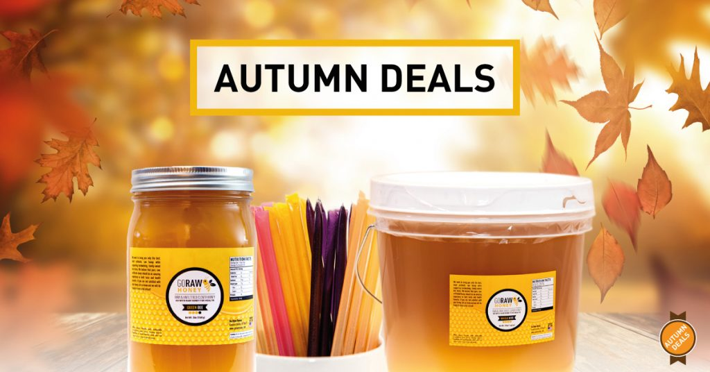 autumn 2019 raw honey deals