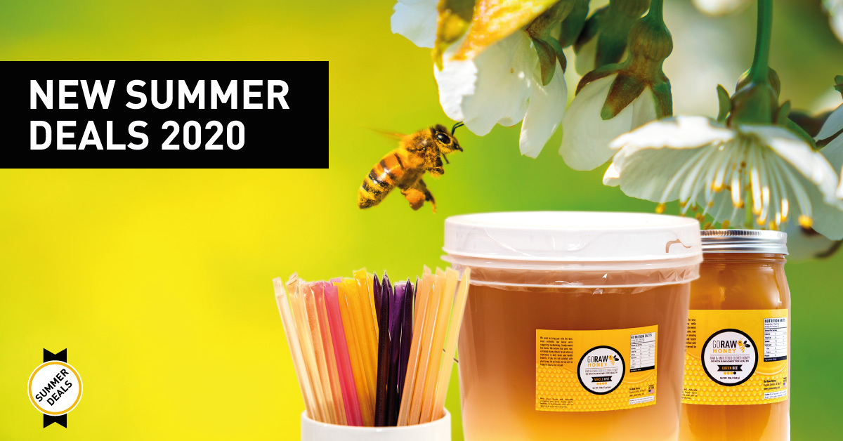 New Summer 2020 Raw Honey Deals Are Here!